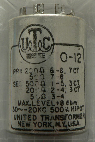 What's the difference between these UTC O-12?